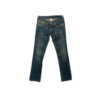 Authentic Second Hand True Religion Disco Billy Jeans (PSS-A44-00040)