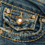 Authentic Second Hand True Religion Disco Billy Jeans (PSS-A44-00040) - Thumbnail 4