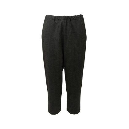 Authentic Second Hand Marni Elasticated Wool Blend Pants (PSS-145-00458)