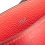 Authentic Second Hand Hermès So-Kelly Rouge Garance Clemence 26 (PSS-474-00030) - Thumbnail 4