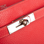 Authentic Second Hand Hermès So-Kelly Rouge Garance Clemence 26 (PSS-474-00030) - Thumbnail 7
