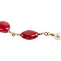 Authentic Second Hand Chanel Fall 2011 Ornate Bead and Pearl Necklace (PSS-145-00469) - Thumbnail 2