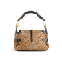 Authentic Second Hand Jimmy Choo Animal Print Calf Hair Shoulder Bag (PSS-145-00476) - Thumbnail 2