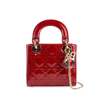 Authentic Second Hand Christian Dior Mini Lady Dior Bag (PSS-B78-00005)