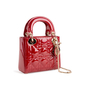 Authentic Second Hand Christian Dior Mini Lady Dior Bag (PSS-B78-00005) - Thumbnail 1
