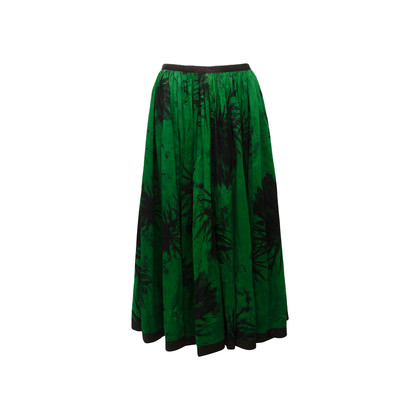 Authentic Second Hand Isabel de Pedro Abstract Floral Skirt (PSS-674-00021)