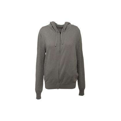 Authentic Second Hand The Row Harry Cashmere Zip-Up Hoodie (PSS-B77-00024)