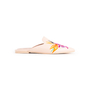 Authentic Second Hand Pretty Ballerinas Ella Embroidered Mules (PSS-238-00110) - Thumbnail 1