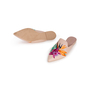 Authentic Second Hand Pretty Ballerinas Ella Embroidered Mules (PSS-238-00110) - Thumbnail 4
