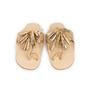 Authentic Second Hand Figue Metallic Tassel Sandals (PSS-B98-00023) - Thumbnail 0