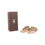 Authentic Second Hand Figue Metallic Tassel Sandals (PSS-B98-00023) - Thumbnail 9