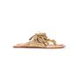 Authentic Second Hand Figue Metallic Tassel Sandals (PSS-B98-00023) - Thumbnail 1