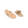 Authentic Second Hand Figue Metallic Tassel Sandals (PSS-B98-00023) - Thumbnail 5