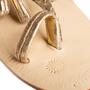 Authentic Second Hand Figue Metallic Tassel Sandals (PSS-B98-00023) - Thumbnail 8