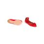 Authentic Second Hand Aquazzura Red Suede Tassel Ballet Flats (PSS-B98-00025) - Thumbnail 5