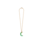 Authentic Second Hand Kenneth Jay Lane Crescent Jade Necklace (PSS-089-00181) - Thumbnail 1