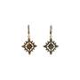 Authentic Second Hand Judith Ripka Gold Rhombus Zirconia Earrings (PSS-634-00046) - Thumbnail 2