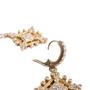 Authentic Second Hand Judith Ripka Gold Rhombus Zirconia Earrings (PSS-634-00046) - Thumbnail 4