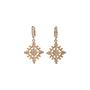 Authentic Second Hand Judith Ripka Gold Rhombus Zirconia Earrings (PSS-634-00046) - Thumbnail 0
