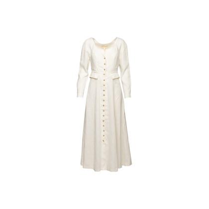 Authentic Second Hand Mara Hoffman Silvana White Dress (PSS-B80-00021)
