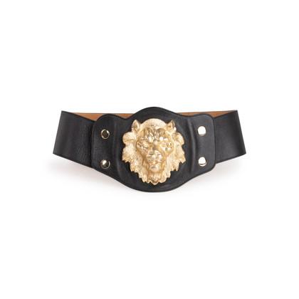 Authentic Second Hand Temperley London Lion Head Belt (PSS-C15-00004)