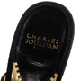 Authentic Second Hand Charles Jourdan Suede Cage Slip On Sandals (PSS-C17-00020) - Thumbnail 7