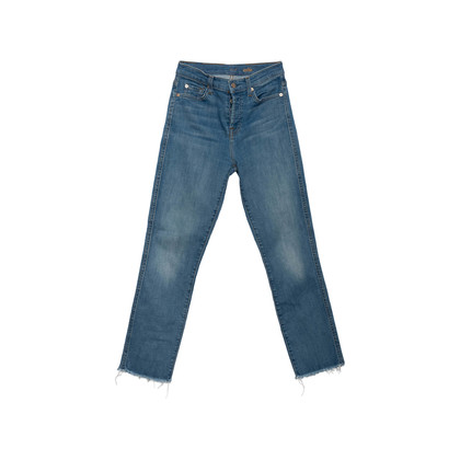Authentic Second Hand 7 for all Mankind Edie High Waisted Jeans (PSS-A64-00107)