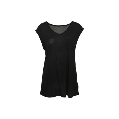 Authentic Second Hand T Alexander Wang Black Sleeveless Top (PSS-C17-00047)
