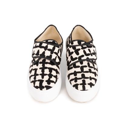Authentic Second Hand marimekko Printed Canvas Sneakers (PSS-C20-00006)