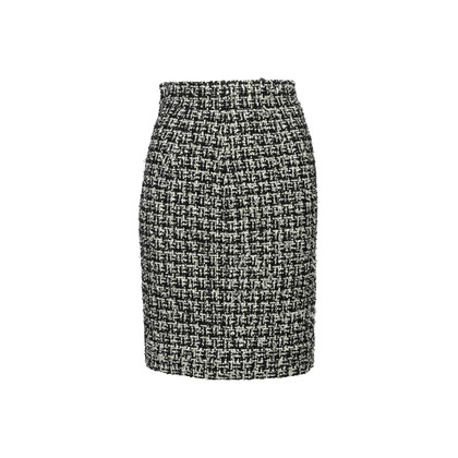 Authentic Second Hand Chanel 09P Tweed Pencil Skirt (PSS-561-00160)