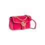 Authentic Second Hand Gucci Marmont Velvet Shoulder Bag (PSS-A92-00005) - Thumbnail 1