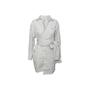 Authentic Second Hand MSGM Stripe Wrap Dress (PSS-418-00051) - Thumbnail 0