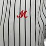Authentic Second Hand MSGM Stripe Wrap Dress (PSS-418-00051) - Thumbnail 3