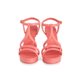 Authentic Second Hand Chanel 18C Column T-Strap Sandals (PSS-418-00006) - Thumbnail 0