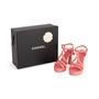 Authentic Second Hand Chanel 18C Column T-Strap Sandals (PSS-418-00006) - Thumbnail 9