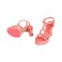 Authentic Second Hand Chanel 18C Column T-Strap Sandals (PSS-418-00006) - Thumbnail 4