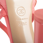 Authentic Second Hand Chanel 18C Column T-Strap Sandals (PSS-418-00006) - Thumbnail 6