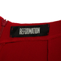 Authentic Second Hand Reformation Red Open Back Dress (PSS-C22-00019) - Thumbnail 2