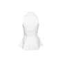 Authentic Second Hand Jonathan Simkhai Cotton Peplum Top (PSS-299-00113) - Thumbnail 1
