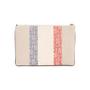 Authentic Second Hand Christian Dior Monogram Canvas Stripe Clutch (PSS-C26-00009) - Thumbnail 2
