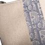 Authentic Second Hand Christian Dior Monogram Canvas Stripe Clutch (PSS-C26-00009) - Thumbnail 8