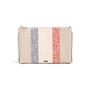 Authentic Second Hand Christian Dior Monogram Canvas Stripe Clutch (PSS-C26-00009) - Thumbnail 0