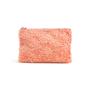 Authentic Second Hand Miu Miu Faux Shearling Zip Clutch (PSS-C31-00013) - Thumbnail 0
