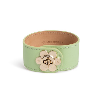 Authentic Second Hand Mulberry Flower Lock Bracelet (PSS-891-00031)