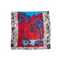 Authentic Second Hand Hermès Sieste Au Paradis 140 Silk Scarf (PSS-145-00509) - Thumbnail 1