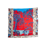 Authentic Second Hand Hermès Sieste Au Paradis 140 Silk Scarf (PSS-145-00509) - Thumbnail 2