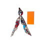 Authentic Second Hand Hermès Sieste Au Paradis 140 Silk Scarf (PSS-145-00509) - Thumbnail 8