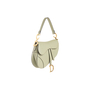 Authentic Second Hand Christian Dior Grained Calfskin Saddle Bag (PSS-C53-00001) - Thumbnail 1
