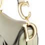 Authentic Second Hand Christian Dior Grained Calfskin Saddle Bag (PSS-C53-00001) - Thumbnail 8