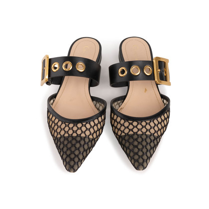 Authentic Second Hand Christian Dior D-Dior Mules (PSS-328-00065)